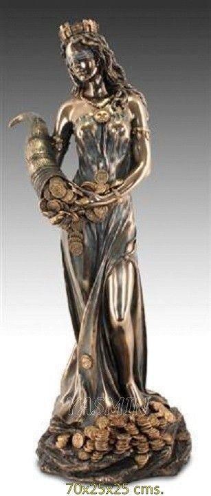 Diosa de la Fortuna 70 Cms. (OBSEQUIO: INCIENSO DIOSA)
